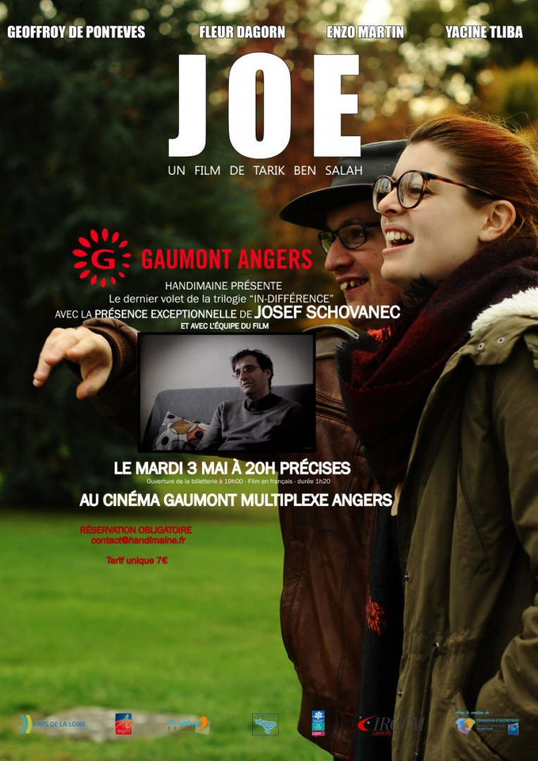 Affiche JOE HANDIMAINE
